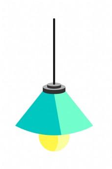 家用电器电灯插画
