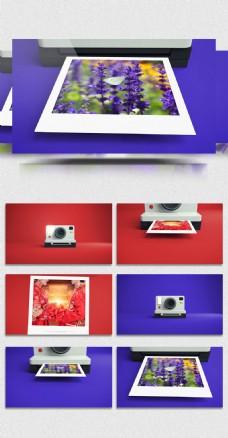 炫酷数码相机照片动画视频模板