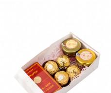 喜庆甜蜜的结婚礼盒