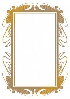 古典花纹欧式边框
