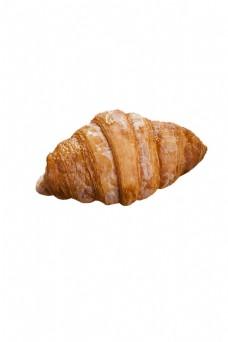 螺丝状的烤面包png素材