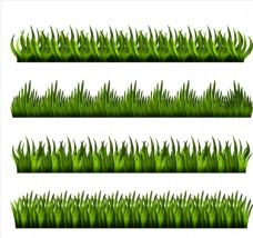 4款深绿草丛设计