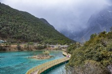青山绿水湖泊碧谭4