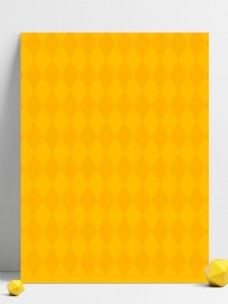 黄色可爱卡通愚人节广告背景
