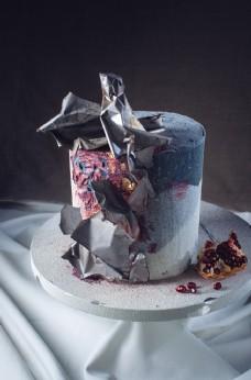 翻糖生日蛋糕