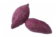 软糯新鲜的大紫薯