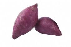 两个大紫薯美味极了