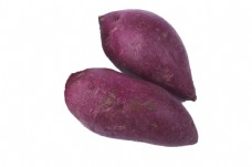 两新鲜的美味紫薯