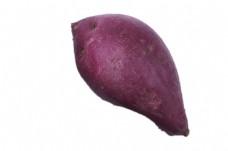 一个美味的大紫薯