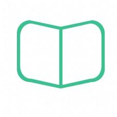 扁平化书本图标下载