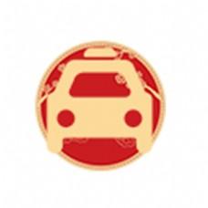 扁平化小汽车图标下载