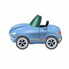 蓝色的汽车装饰插画