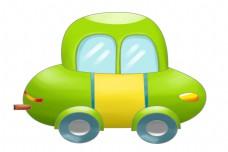 漂亮的汽车装饰插画
