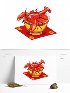小龙虾螺蛳粉小龙虾碗螺蛳粉美食