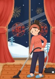 新春节日插画