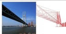 上海市黄浦江闵浦二桥