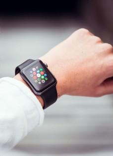 苹果手表watcht配带样机