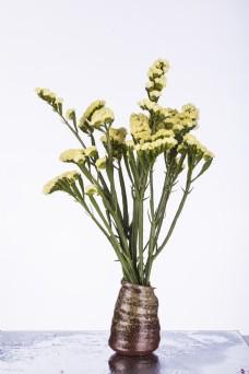 一瓶花放在桌子上