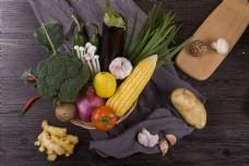 新鲜蔬菜之组合蔬菜2