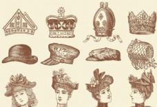歐洲復古插畫