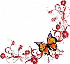 蝴蝶花纹花边