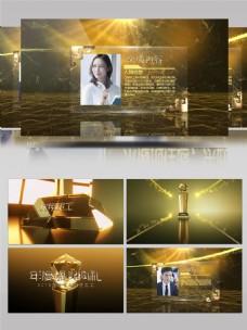 震撼大气的年会优秀员工颁奖典礼视频模板
