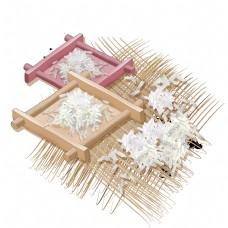 手绘一堆草席大米插图