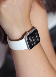 苹果手表watch配带场景样机