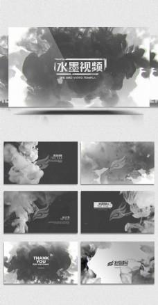 大气水墨展示视频AE模板