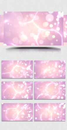 4K梦幻紫色霓虹灯光婚礼婚庆背景led视频