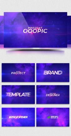 时尚绚丽商业企业AE模板