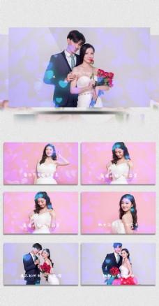 婚礼恋爱相册PR模板