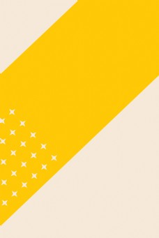 黄色简洁海报背景JPG图片