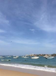 塞内加尔的海边
