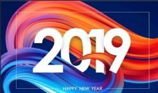 2019 新年 春节 数字 海