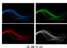 光线科技炫彩海报背景