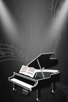 音乐梦想钢琴培训海报