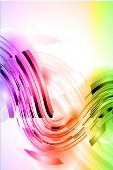 炫丽多彩科技光效平面素材