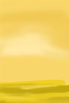卡通黄色渐变背景下载