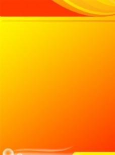 橘色 展板背景