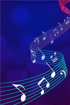 创意音乐符号平面素材
