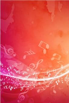 创意音乐符号背景素材