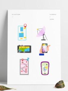 科技素材手机装饰用品