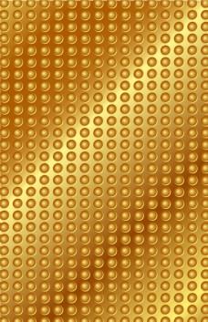 商端黄金金色底纹海报