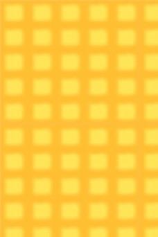 手绘黄色时尚格子纹理背景