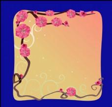 手绘花卉素材