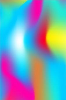 炫丽多彩流体渐变平面素材