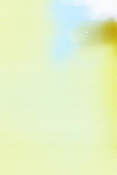 黄色唯美渐变背景