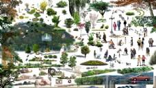 园林绿化素材