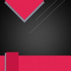 扁平几何背景促销主图